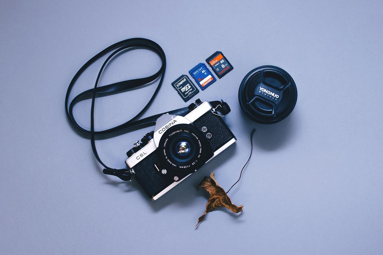 4K動画撮影・保存におすすめ!SDカードと保管ケース